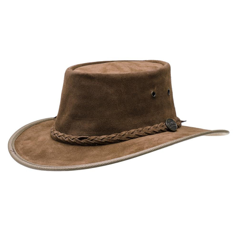 Barmah Hat - Suede Hickory - 1025 - PREPARE FOR ADVENTURE