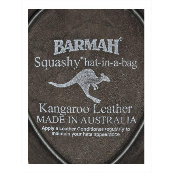 Barmah Hat - Squashy Kangaroo Crackle Brown - 1018 - PREPARE FOR ADVENTURE