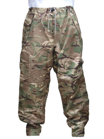 British Army MVP Waterproof Over Trousers - MTP