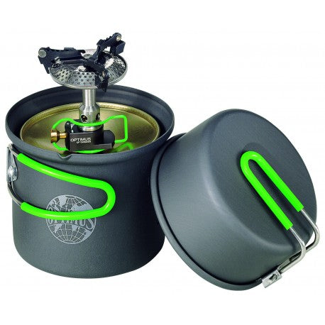 Optimus Crux Lite Solo Cook Set - Lightweight Gas Stove