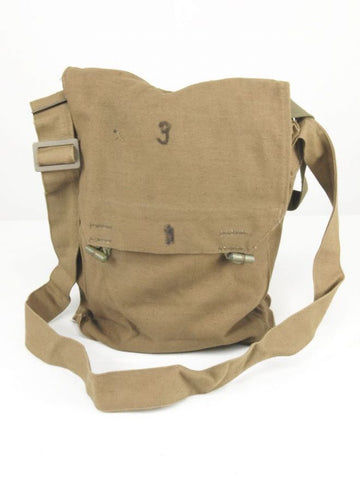 Czech Army Khaki Canvas Shoulder Bag - PREPARE FOR ADVENTURE