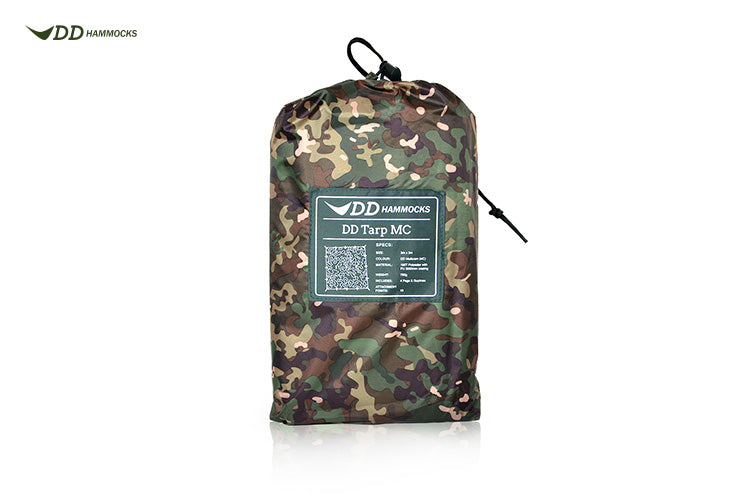 DD Hammocks Tarp 3x3 MultiCam - PREPARE FOR ADVENTURE
