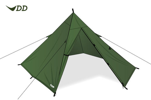 Lightweight solo camping tent, ideal for hiking and long distance camping