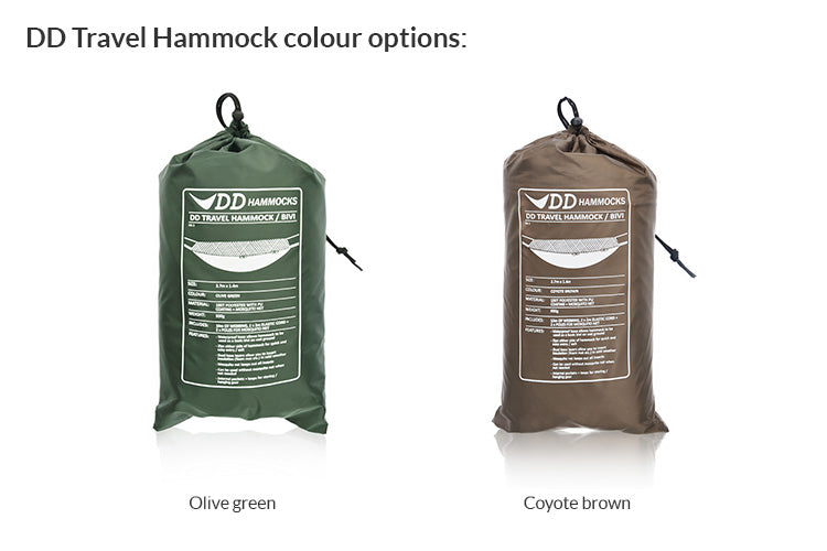 DD Travel Hammock - PREPARE FOR ADVENTURE