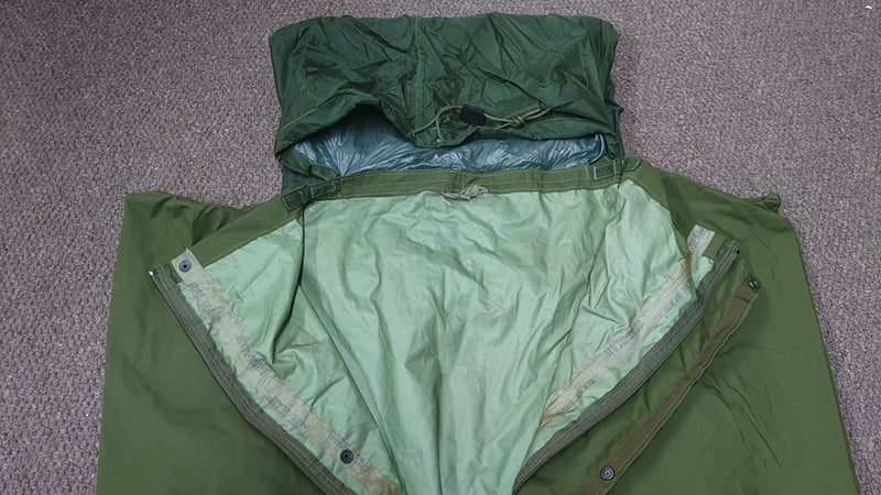 Dutch Army Gore-Tex Bivvy Bag - Central Zip - Olive Green - PREPARE FOR ADVENTURE