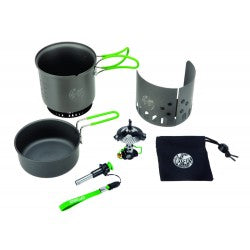 Optimus Elektra FE - Lightweight Gas Stove - Cook Set - PREPARE FOR ADVENTURE