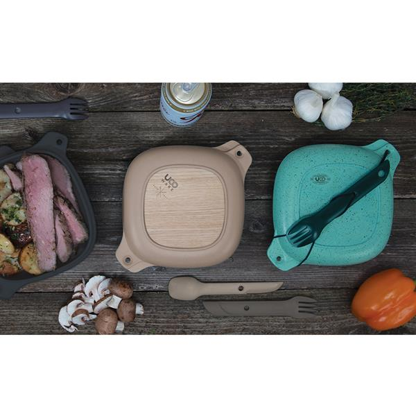 UCO Ware 5 Piece Elements Bamboo Set - Various Colours Available - PREPARE FOR ADVENTURE
