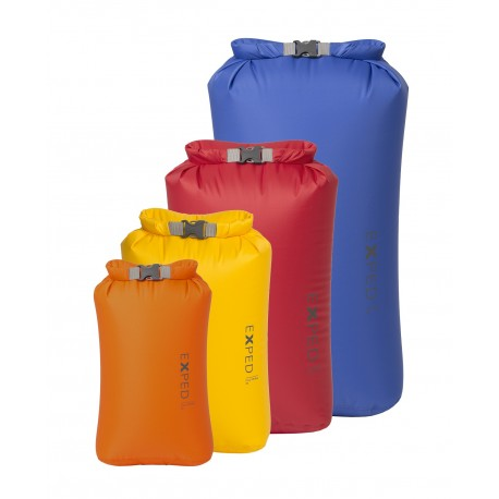 Exped DryBag - 4 Pack - Bright - 3, 5, 8, 13ltr - PREPARE FOR ADVENTURE
