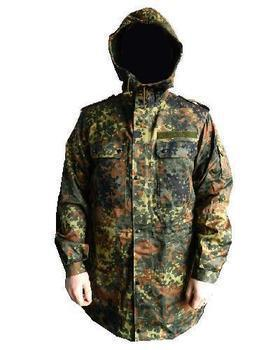 German Army Flecktarn Camo Parka