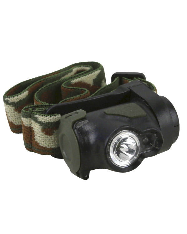 Kombat Headlamp - Cree 3w - LED - PREPARE FOR ADVENTURE