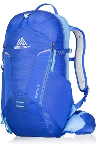 Gregory Packs Maya 22 - Blue - Grey - 22ltr Day Pack - PREPARE FOR ADVENTURE