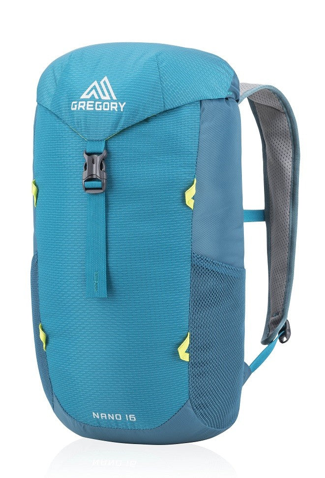 Gregory Packs Nano 16 - Teal - Mantis Green - Black - 16ltr Day Pack - PREPARE FOR ADVENTURE