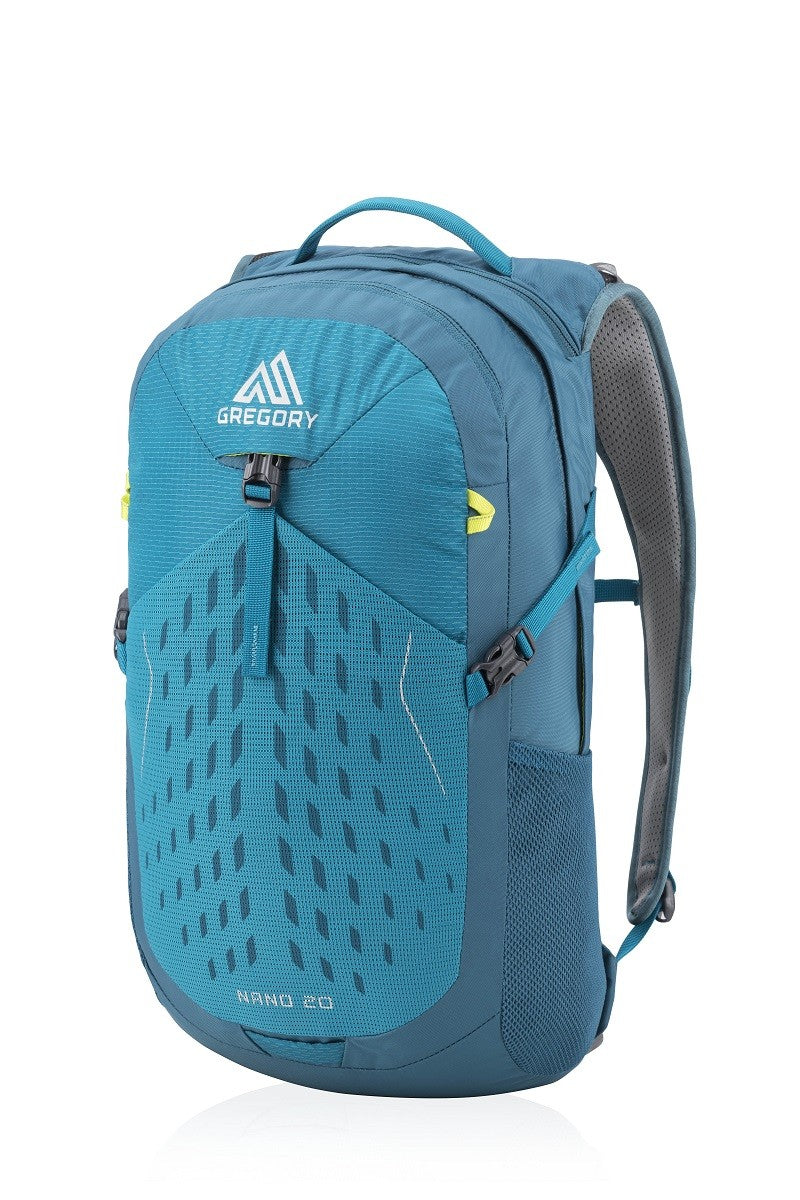Gregory Packs Nano 20 - Teal - Mantis Green - Black - 20ltr Day Pack - PREPARE FOR ADVENTURE