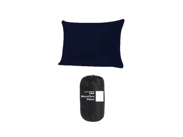 Micro Fibre Camping Pillow - Lightweight Luxury Travel Pillow - Yellowstone - PREPARE FOR ADVENTURE