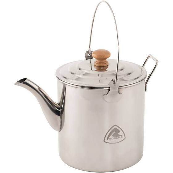 Robens White River Kettle 3ltr - Stainless Steel - PREPARE FOR ADVENTURE