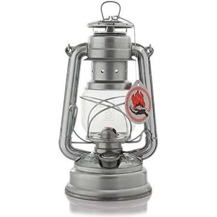 Feuerhand Storm Lantern - 276 - Galvanised - PREPARE FOR ADVENTURE