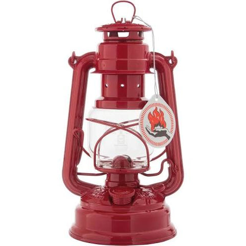 Feuerhand Storm Lantern - 276 - Red - Green - Black