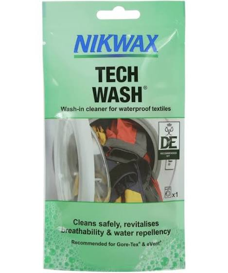 Nikwax Tech Wash 100ml - PREPARE FOR ADVENTURE