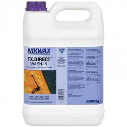 Nikwax TX Direct Wash-In 5ltr - PREPARE FOR ADVENTURE
