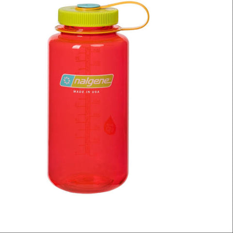 Nalgene Tritan 1ltr Water Bottle - Wide Mouth - 6 Colours - PREPARE FOR ADVENTURE