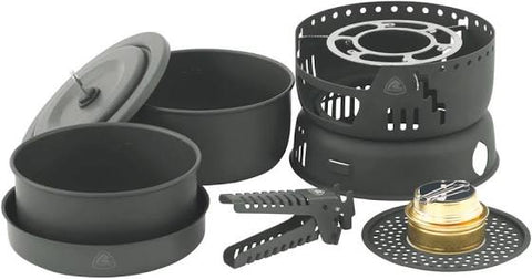 Robens Cookery King - Spirit Burner Stove - Lightweight Cook Set - PREPARE FOR ADVENTURE