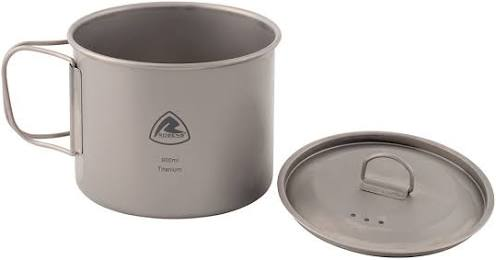 Robens Titanium Pot 0.9ltr - Solo Cook Pot - PREPARE FOR ADVENTURE