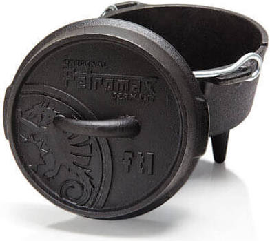 Petromax ft1 Dutch Oven - 0.93ltr - Cast Iron - PREPARE FOR ADVENTURE