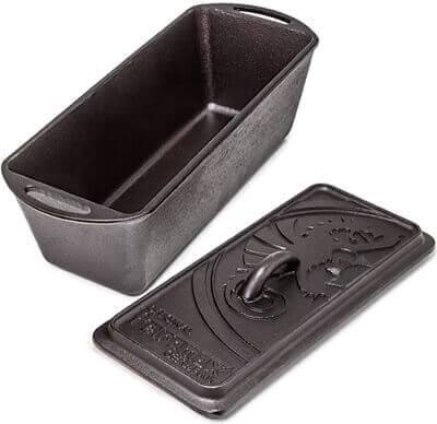 Petromax Loaf Pan With Lid - Cast Iron - K4 - PREPARE FOR ADVENTURE