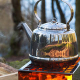 Petromax Tea Kettle  - 1.5ltr - 3ltr - 5ltr - Stainless Steel - PREPARE FOR ADVENTURE