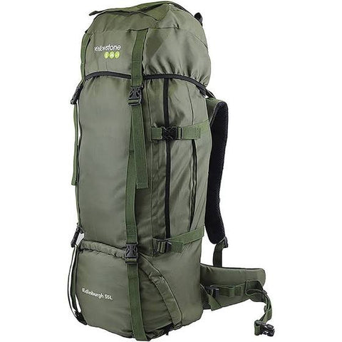 Expedition 55ltr Rucksack - Camping - Olive - Yellowstone - PREPARE FOR ADVENTURE