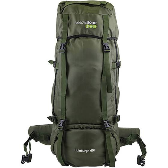 Expedition 65ltr Rucksack - Wild Camping - Olive - Yellowstone - PREPARE FOR ADVENTURE