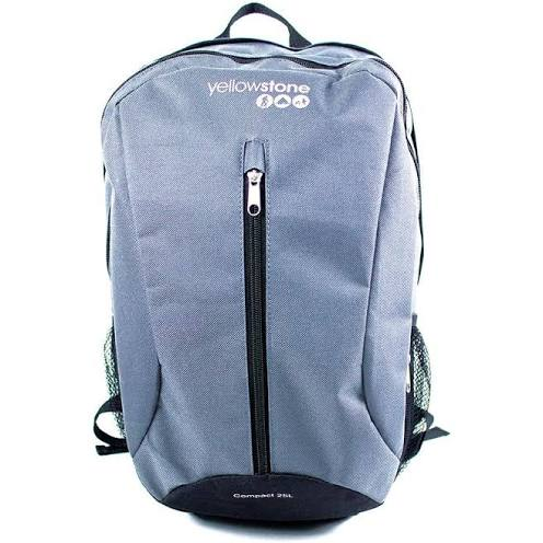 Hiking Day Pack - Compact 25ltr - Charcoal - Yellowstone - PREPARE FOR ADVENTURE