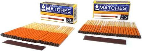 UCO Storm Proof Matches - Twin Pack x50 - PREPARE FOR ADVENTURE