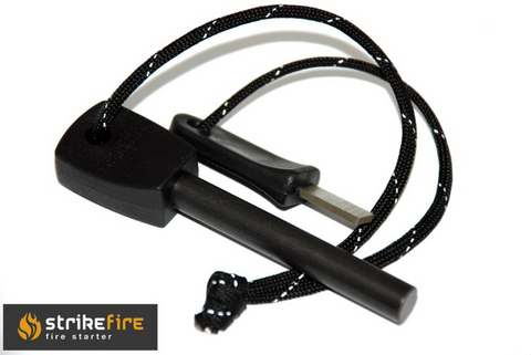Strikefire Fire Starter - Large Fire Steel - Ferro Rod - PREPARE FOR ADVENTURE