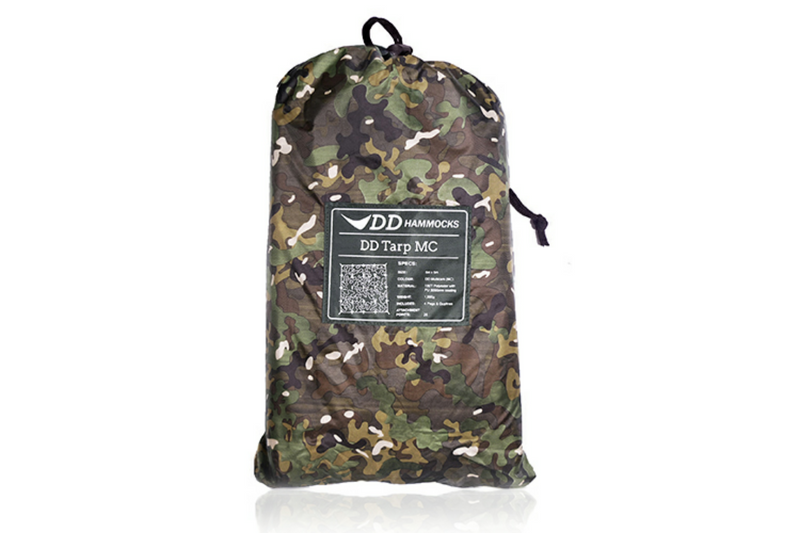 DD Hammocks 5x5m Tarp Multicam - PREPARE FOR ADVENTURE