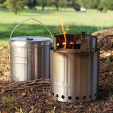 Solo Stove Pot 4000 - Lightweight Cook Set - PREPARE FOR ADVENTURE