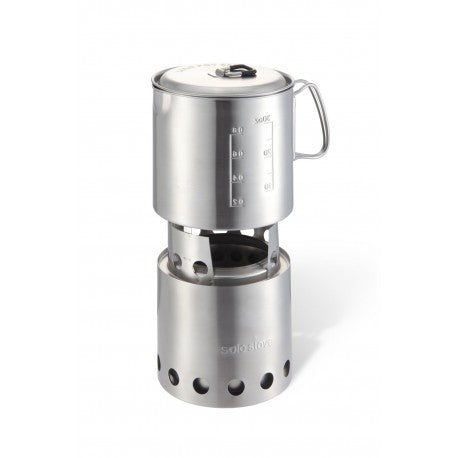 Solo Stove Pot 900 Combo - Wood Burner - Wild Camping - PREPARE FOR ADVENTURE