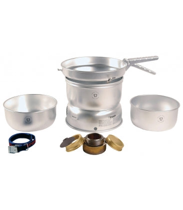 Trangia 27-1 Sprit Burner Stove - Alloy Pans Cook Set - PREPARE FOR ADVENTURE