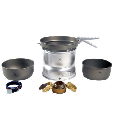 Trangia 27-7 Spirit Burner Stove - Hard Anodised Pans - Cook Set