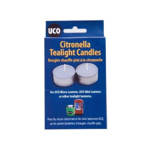 UCO Tealight Citronella Candles - Micro And Mini Lantern - Pack Of 6