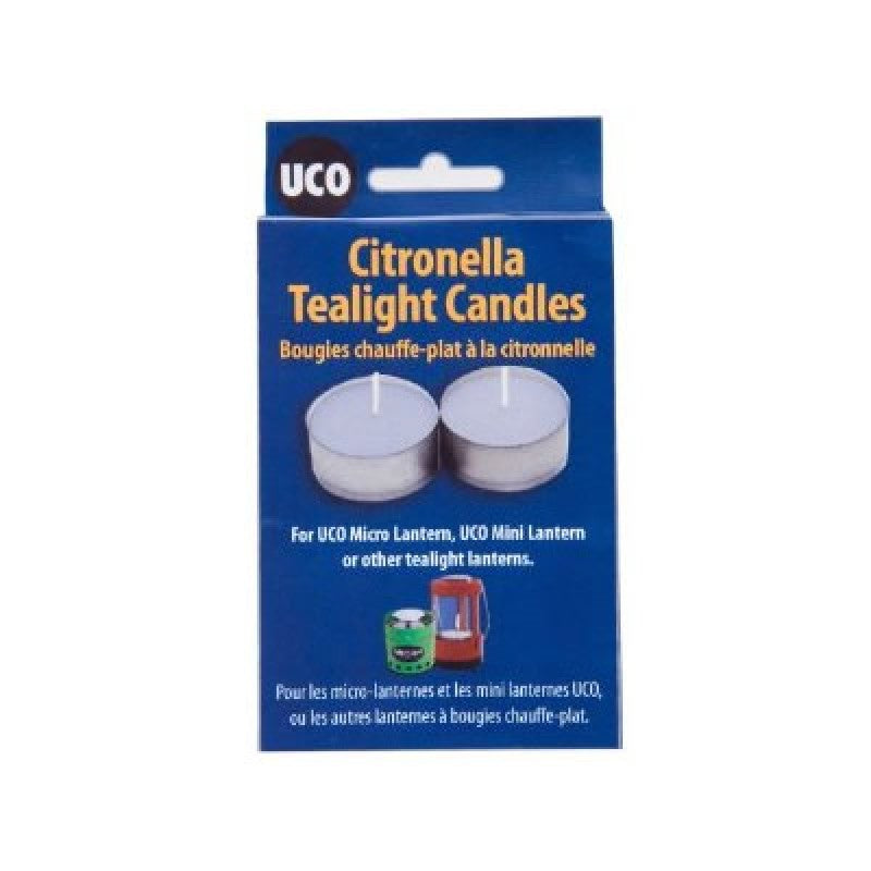 UCO Tealight Citronella Candles - Micro And Mini Lantern - Pack Of 6 - PREPARE FOR ADVENTURE