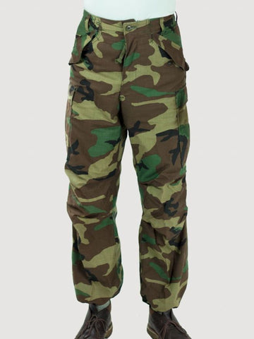 US Army M65 Woodland Camo Trouser