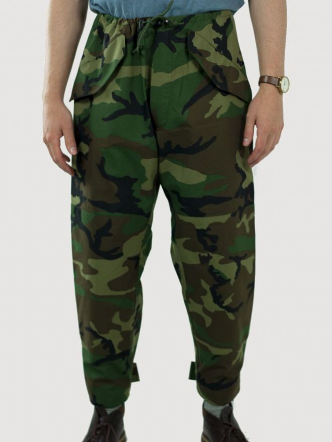 US Army Woodland Camo Gore-Tex Over Trousers - PREPARE FOR ADVENTURE
