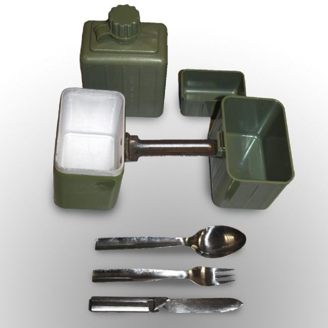 Yugoslavian Army Mess Tin Set - PREPARE FOR ADVENTURE