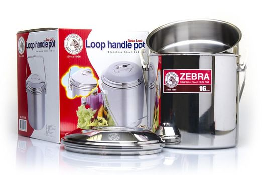 Zebra Loop Handle Pot - Billy Can 16cm - 30ltr - Stainless Steel - PREPARE FOR ADVENTURE