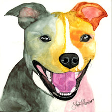 Load image into Gallery viewer, Custom Watercolor on Claybord - Small to Medium Size Format - Pups of Color