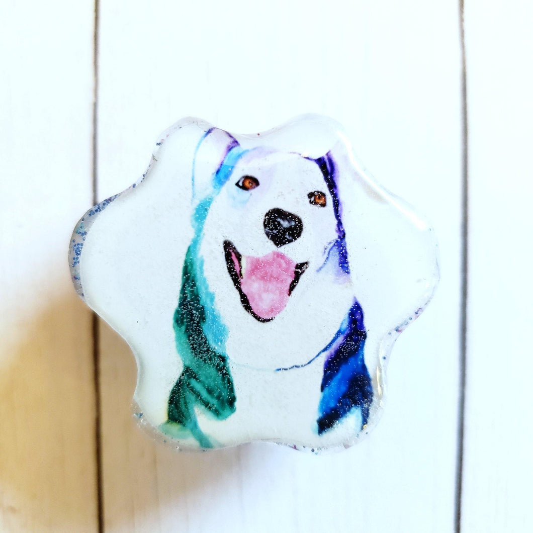 Paw Portrait Magnet - Pups of Color
