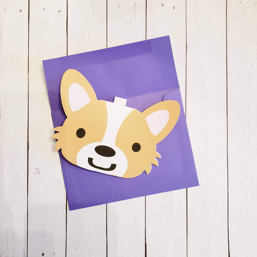 Corgi Greeting Card for All Occasions - Pups of Color