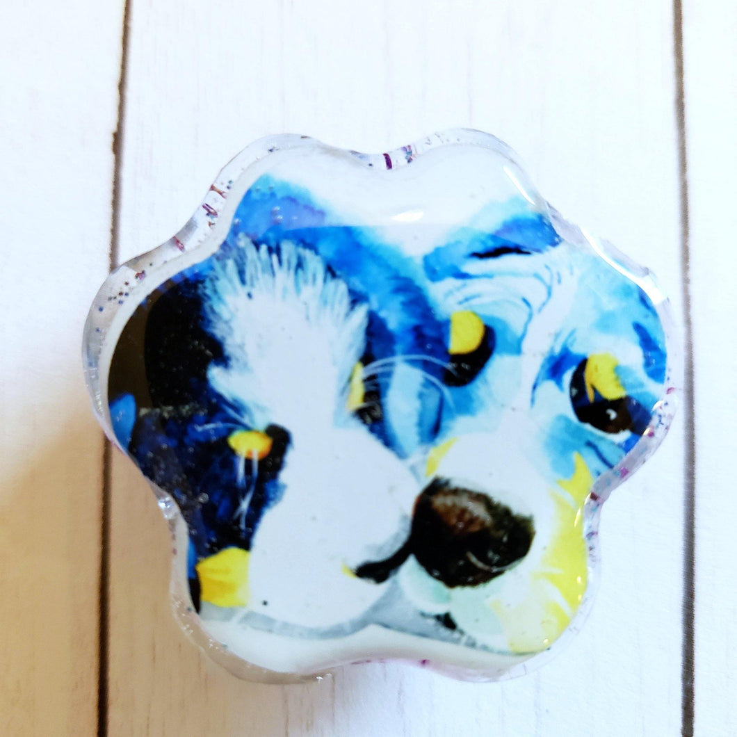 BM Dogs Paw Portrait Magnet - Pups of Color
