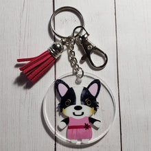 Load image into Gallery viewer, Corgi Holiday Ornaments and Keychains - Pups of Color